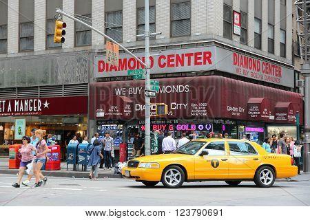 Diamond District, New York