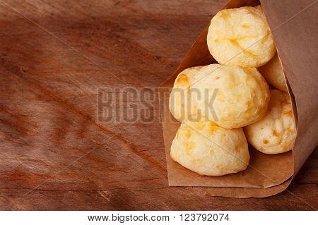 Brazilian Snack Cheese Bread (pao De Queijo)