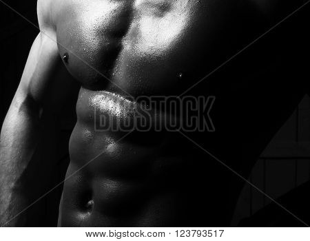 Iron Cool Beautiful Male Torso