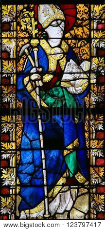 Saint Eligius - Stained Glass In Rouen