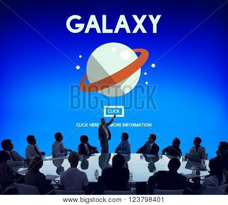 Galaxy Astrology Planet Gravity Concept