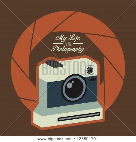 camera shutter background , vector illustration eps10 graphic