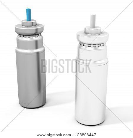 3D Medicine Inhaler Tubes