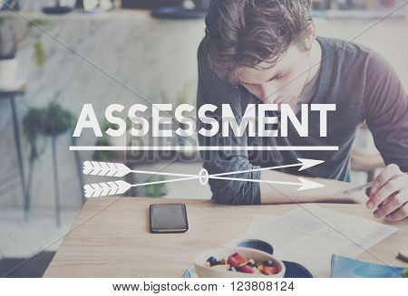 Assessment Analysis Review Inspection Evaluation Concept