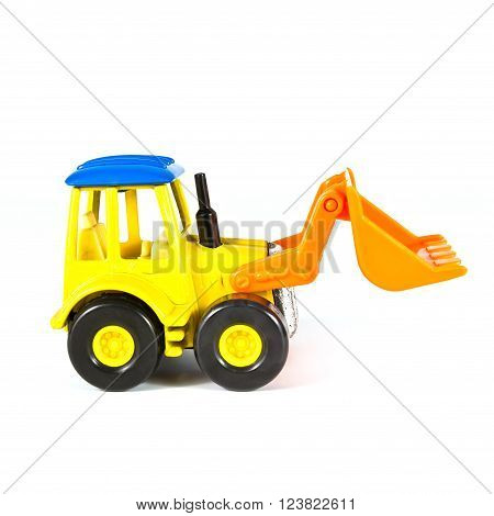 a toy loader excavator construction machinery equipment