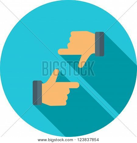 Camera, focus, horizontal icon vector image. Can also be used for photography. Suitable for use on web apps, mobile apps and print media.