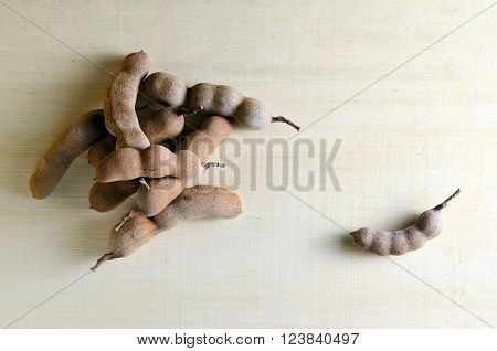 Bitter Gourd (science Name Momordica Charantia L. Family Name Cucurbitaceae) On Wooden Board