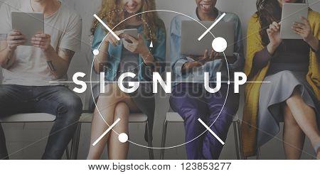 Sign-in Computer Digital Internet Network Secure Concept