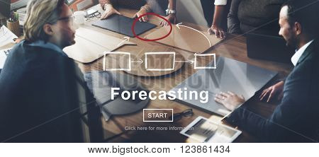 Forecasting Forecast Estimation Business Future Concept