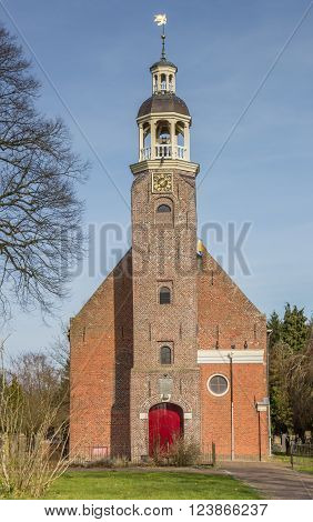 Reformed church in Oude Pekela The Netherlands