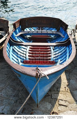 Boat On Orta Lake, Italy