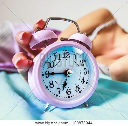 Alarm Clock Turning Off