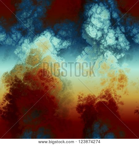 seamles abstraction pattern cover design, amazing toxic clouds background