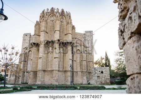 Lala Mustafa Pasha Mosque in Famagusta, Northern Cyprus