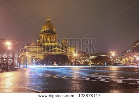St.petersburg, St. Isaac's Square