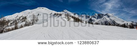 Ski Slopes In The Via Lattea