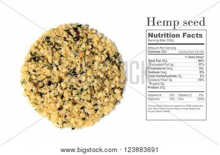 Shelled Hemp Seeds