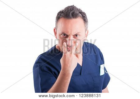 Doctor Making Look Into My Eyes Or Pay Attention Gesture