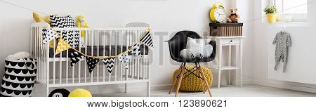 Extraordinary, Bright Baby Room With Beautiful Decorations