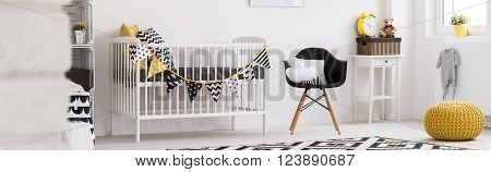 Cute Baby Room With Original Decorations