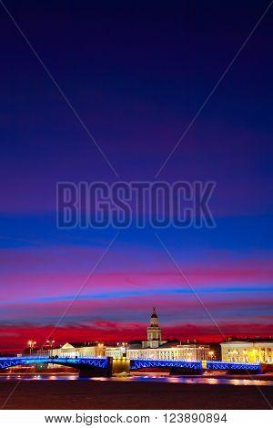 St. Petersburg, Dusk