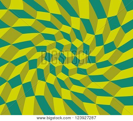 Vector Modern Seamless Colorful Geometry Pattern Twirl, Color Abstract