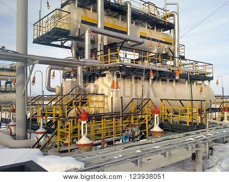Equipment For Oil Separation.