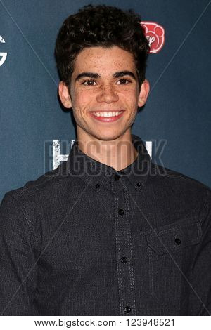 LOS ANGELES - MAR 29:  Cameron Boyce at the High Strung Premiere at the TCL Chinese 6 Theaters on March 29, 2016 in Los Angeles, CA