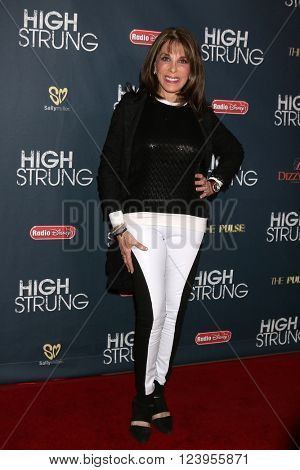 LOS ANGELES - MAR 29:  Kate Linder at the High Strung premiere at the TCL Chinese 6 Theaters on March 29, 2016 in Los Angeles, CA