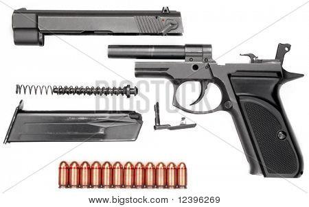 9 mm gun in details
