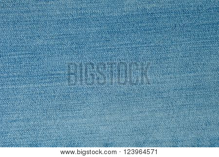 Fabric Texture Close Up of Blue Jean Texture Pattern Background.