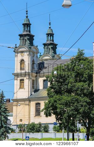 House of Organ and Chamber Music (former Temple St. Mary Magdalene) in Lviv, Ukraine