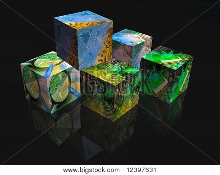 Business Cubes