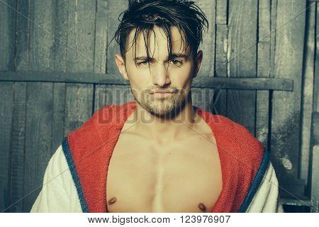Guy In Terry Bathrobe