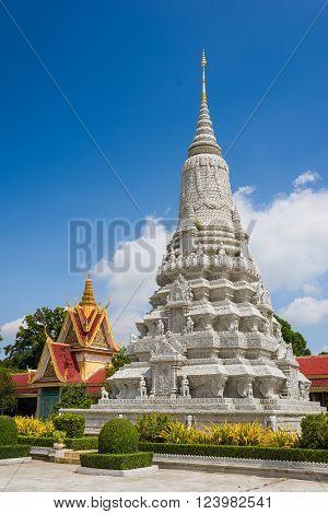 Beautiful Stone Pagoda