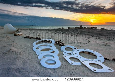 Gasket And Flanges