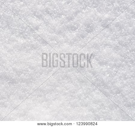 close up shot of a fresh snow