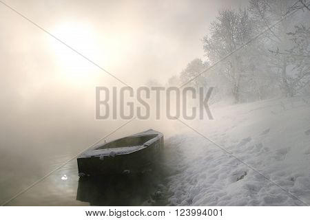 Winter Morning On The River