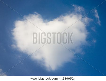 cloud at valentine day