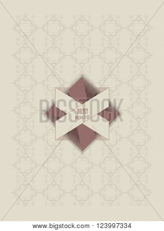 pale pink and beige pastel colored vegetibels pattern