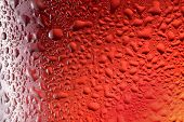 stock photo of close-up shot  - Close up shot of frosty beer glass - JPG