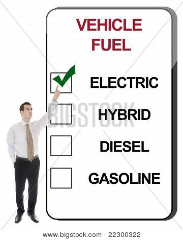 Combustível de veículo