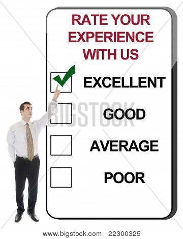 Rate Your Experience With Us