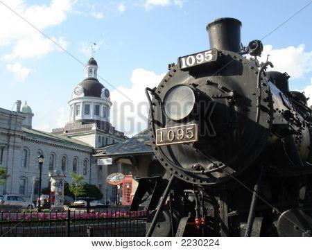Kingston, Ontario Train Display