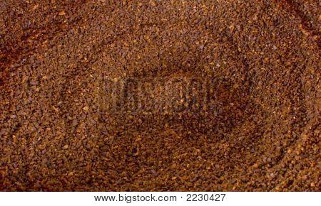 Coffee Ground Background