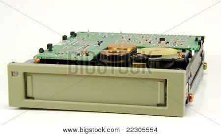 Tape drive (front view)