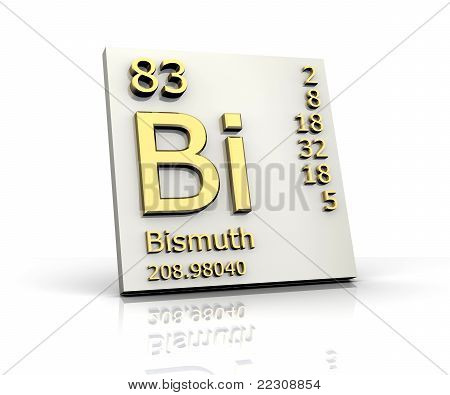 Bismuth Form Periodic Table Of Elements