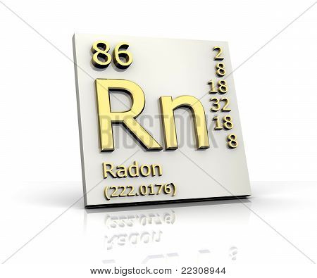 Radon Form Periodic Table Of Elements