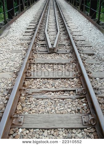 Railway Track Pointed