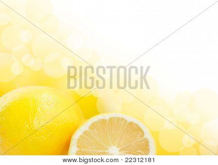 Lemons Background